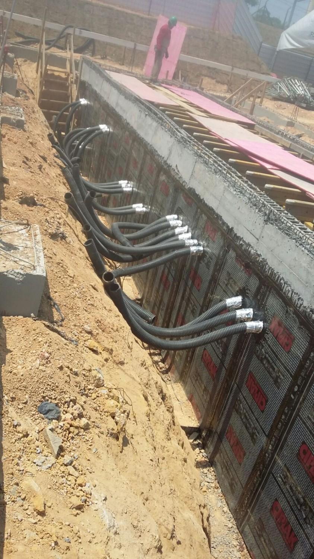 Impermeabilização Muro de Arrimo com Manta Asfáltica