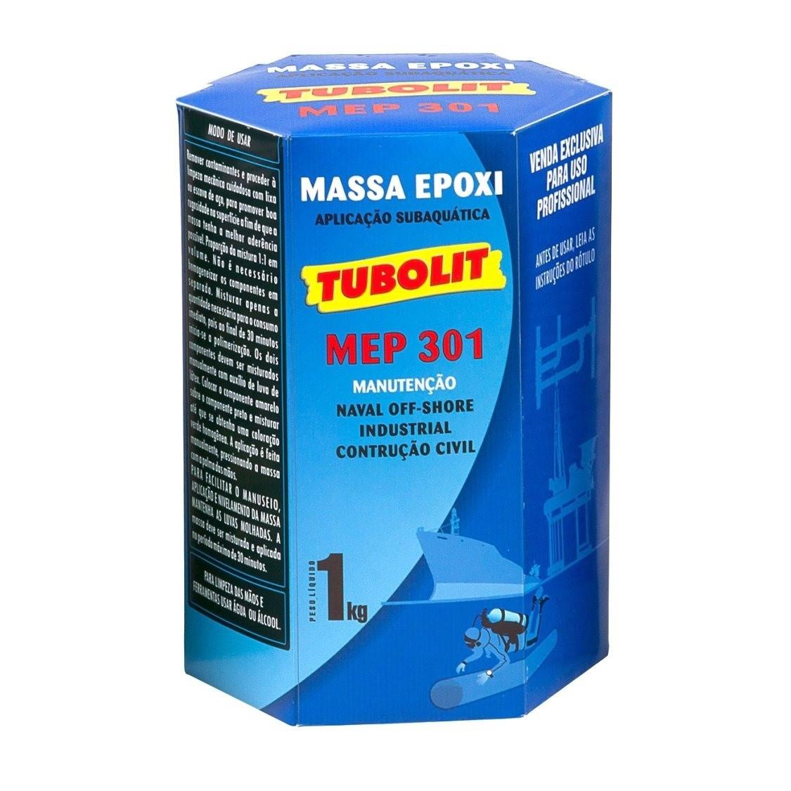 Massa Epoxi Tubolit - 1kg